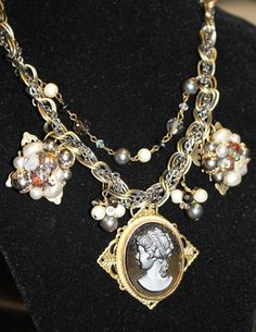 repurposed vintage jewelry from Sassy Sisters Jewelry on Etsy