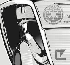 Star Wars: Scout trooper illustration on Behance