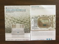 Free SkinCeuticals Triple Lipid Restore Correct sample #freestuff #freebies #samples #free