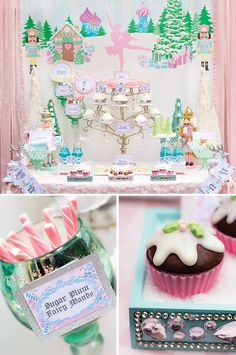 Magical Sugar Plum Fairy Nutcracker Birthday Party