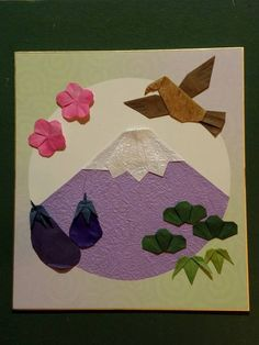 Origami Cards, Origami Paper, Washi, Collage, Gallery, Artwork, Crafts, Painting, Door Hangings