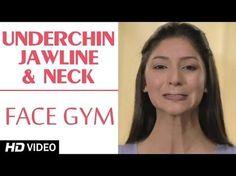 Face Gym - Underchin, Jawline & Neck HD   Asha Bachanni - YouTube