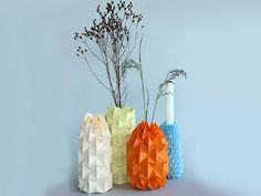 DIY-Anleitung: Magic-Ball-Vase falten via DaWanda.com