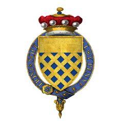 Coat of arms of Sir Henry FitzHugh, 3rd Baron FitzHugh, KG