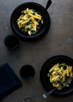 Easy One Pot, Stove Top Creamy Kale Mac and Cheese Recipe on ...