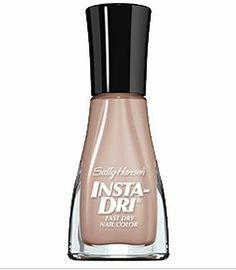 Sally Hansen Insta-Dri ~ Sand Storm 113 Sally Hansen a great nude color that is not pinkish