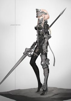 A place for your love for future aesthetics and anime art. Fantasy Character Design, Character Design Inspiration, Character Concept, Character Art, Fantasy Armor, Anime Fantasy, Fantasy Girl, Fantasy Characters, Female Characters