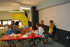 """Creativity Platform - Sharing Cities MapJam Thessaloniki  On Friday, 25th of October, Creativity Platform team, under the co-ordination of Nelly Trakidou, hosted the first """"Sharing Cities Map Jam"""" in Thessaloniki, at the ApoDec space."""