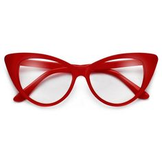 4d0ca71badf Super Cat Eye Vintage Inspired Fashion Mod Chic High Pointed Clear Eye Wear  Glasses