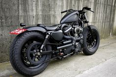 Harley-Davidson Iron Guerilla 883 custom by Rough Crafts by Charles Nouÿrit, via Flickr