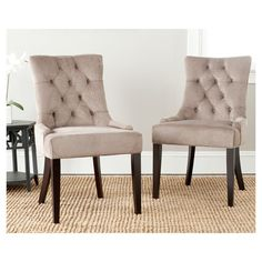 Ashley Tufted Side Chair (Set of 2)