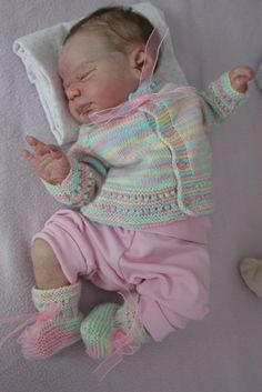 Newborn reborn baby girl doll KNOX by Laura Lee Eagles IIORA Collii | eBay