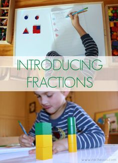 Introducing Fractions