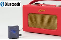REVIVAL ROBERTS RADIO: Turn it into a Bluetooth Radio with the BLUTUNE SYNC Roberts Radio, Marshall Speaker, Bluetooth