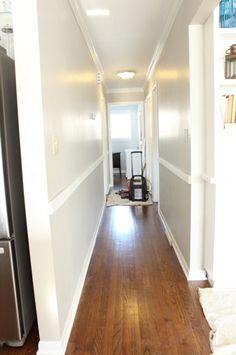 hallway finally. Board And Batten1 Hallway Finally T