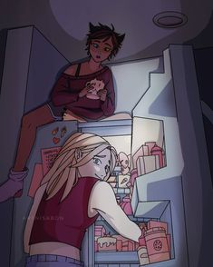 She Ra Princess Of Power, Cute Anime Couples, Httyd, Cute Gay, Anime Shows, Cool Pictures, Cool Stuff, Stuff Tv, Fan Art