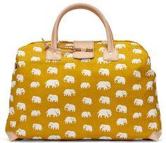 elephants on a bag. shut up.