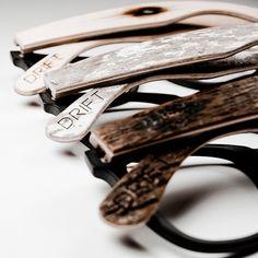 Drift Eyewear: Hardwood frames tap architecturally-inspired design for a better fit