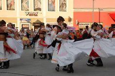 Dancing In the street in Zvolen, Slovakia