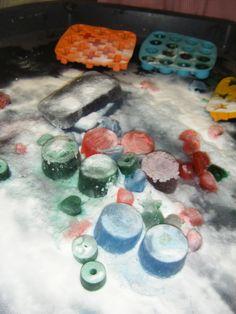 White Vinegar Ice and Bicarbonate of Soda