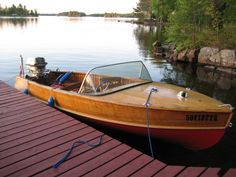 How to Save Money Building Your Own Boats Wooden Boat Kits, Wood Boat Plans, Wooden Boat Building, Cool Boats, Small Boats, Classic Wooden Boats, Classic Boat, Classic Cars, Wooden Speed Boats