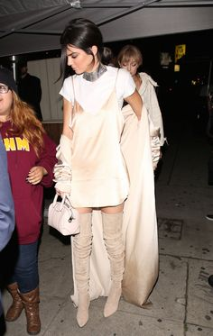 Gigi Hadid and Kendall Jenner - Stop by The Nice Guy after MTV Movie Awards 4/9/2016