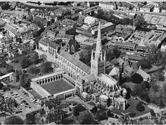 Norwich Cathedral c.1960