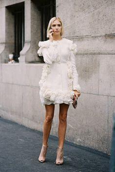 Paris Fashion Week SS 2014....Elena