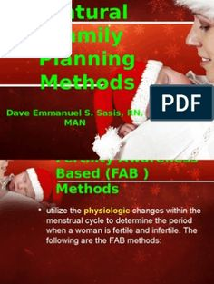 Natural Family Planning Methods