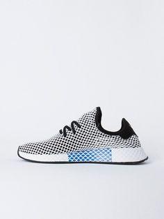 2018 Nouveau chaussures DEERUPT RUNNER Pharrell Williams Stan Smith Tennis HU Designer Maille Running CQ2624 Casual Femmes Hommes baskets