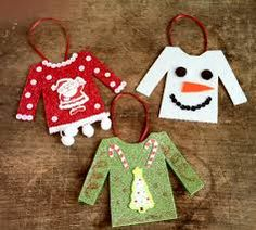 ugly christmas sweater ornaments - Google Search