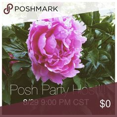 Co-Hosting a Posh Party!!! Co-hosting my fourth Posh party on August 29th!!! The night party (9pm central time). Theme to come in the next few weeks!! Other