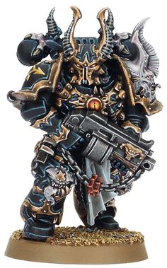 Black Legion Space Marine. Warhammer 40k Miniatures. #miniatures #warhammer40k #40k