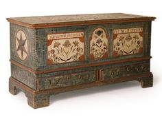 Dower chest  Probably Berks County, Pennsylvania, 1799  Private collection