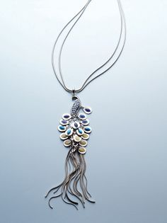 Peacock Necklace #chicos