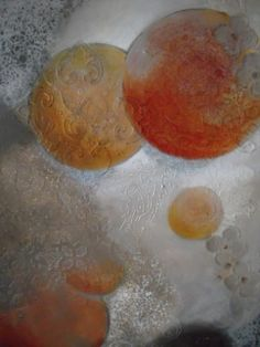 """BARBARA VAN ROOYAN ABSTRACT ART-20""""x16""""-Original-Available"""