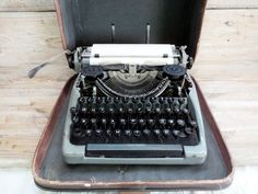 1957 Rare Typewriter Moskow Soviet era by GuestFromThePast on Etsy