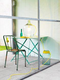 #DIY Patiolamp - #101woonideeen.nl - Dutch interior and crafts magazine
