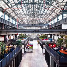 "New York developer Macro Sea has turned a warehouse at Brooklyn's Navy Yard into a workspace for tech entrepreneurs, using the building's ""cathedral-like"" steel trusswork to inform new elements (+ slideshow)."