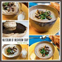 No-Cream of Mushroom Soup. Rosemary. Pepper. Gluten Free
