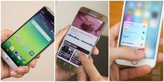 LG G5 (LG UX) vs Samsung Galaxy S7 (TouchWiz) vs Apple iPhone 6s (iOS 9): how they differ visually