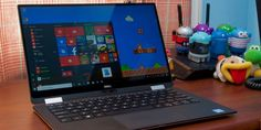 It's a Dell XPS 13, but it's also a 2-in-1. 👍 #technology #techinel #technews