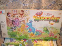 1985 Wuzzles Board Game / New Listing Not by Daysgonebytreasures, $35.00