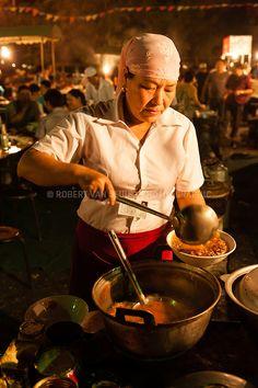 night food marketTurpan, Xinjiang, China