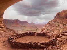 An Anasazi site in southern Utah about 100 miles from the location of the recent discovery . Ruins unearthed in southern Utah are confirmed. Beautiful World, Beautiful Places, Beautiful Artwork, Amazing Places, Grand Canyon, Road Trip, Canyonlands National Park, Land Of Enchantment, Land Scape