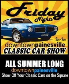 Downtown Painesville Classic Car Show (via Lake County Visitors Bureau) Classic Car Show, Classic Cars, Stuff To Do, Things To Do, Visitors Bureau, Ohio, Cruise, Summer, Things To Make