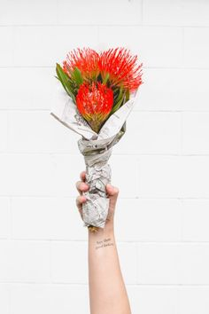 Flower DIY to Try // The 60 Second Bouquet (via Bloglovin.com )