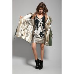 2016 New Fashion women's army green Large raccoon fur collar hooded long coat parkas outwear rabbit fur lining winter jacket-in Down & Parkas from Women's Clothing & Accessories on Aliexpress.com   Alibaba Group