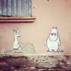 Moomin Streetart