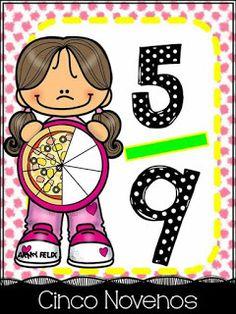 SGBlogosfera. María José Argüeso: Matemáticas Learning Time, Kids Learning Activities, Math School, Math Fractions, 2nd Grade Math, Math For Kids, Preschool Art, Math Lessons, Teaching Math